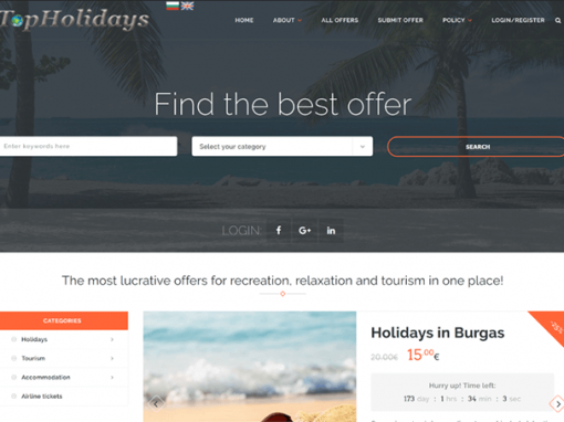 Collective shopping website TopHolidays