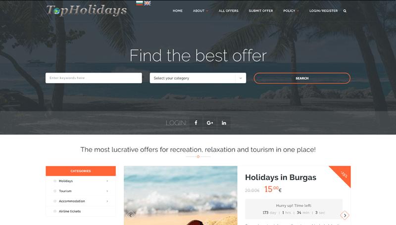Collective shopping website