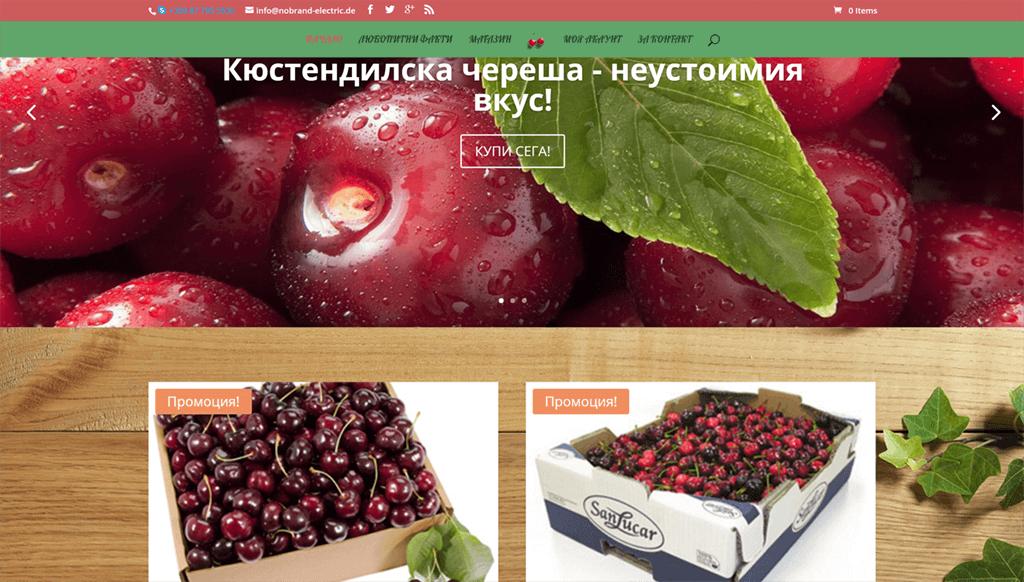 """Online shop """"Cherry"""""""
